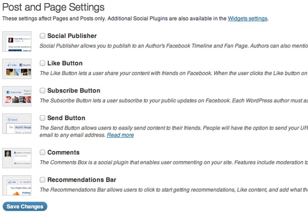 facebook_for_wordpress_post_and_page_settings