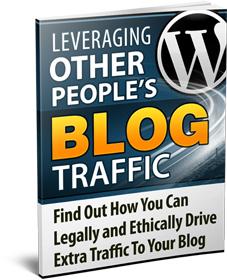 Leveraging Blog Traffic