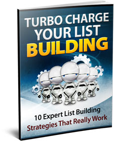 Turbo Charge you List Building