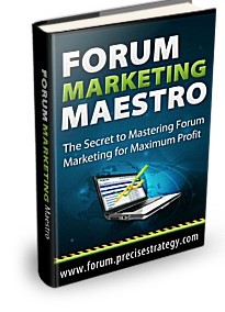 Forum Marketing Maestro