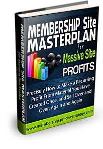 Membership Site Masterplan for Massive Site Profits
